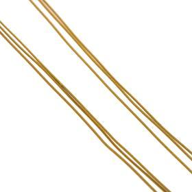 Αλυσίδα στρογγυλή τριπλή σε χρυσό 18 ΚΤ.