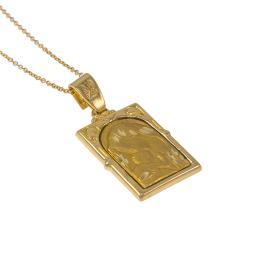 Φυλαχτό Παναγία σε χρυσό 14ΚΤ.