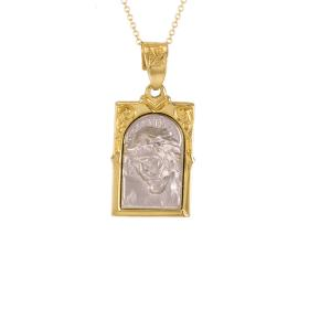 Talisman gold and white gold 14kt.