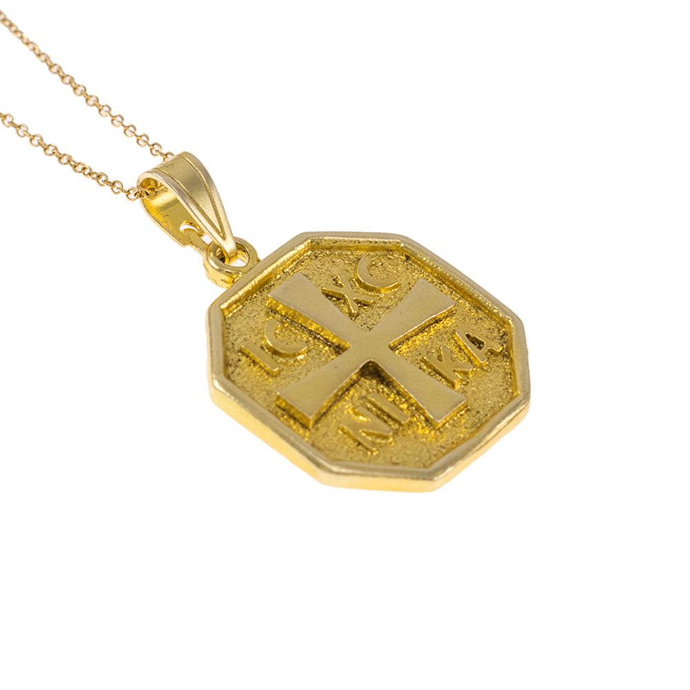Φυλαχτό σε κίτρινο χρυσό 14ΚΤ.