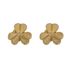 Σκουλαρίκια ''DAISIES'' σε κίτρινο χρυσό 14ΚΤ.
