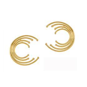 Σκουλαρίκια ''CYCLE'' σε ασήμι.