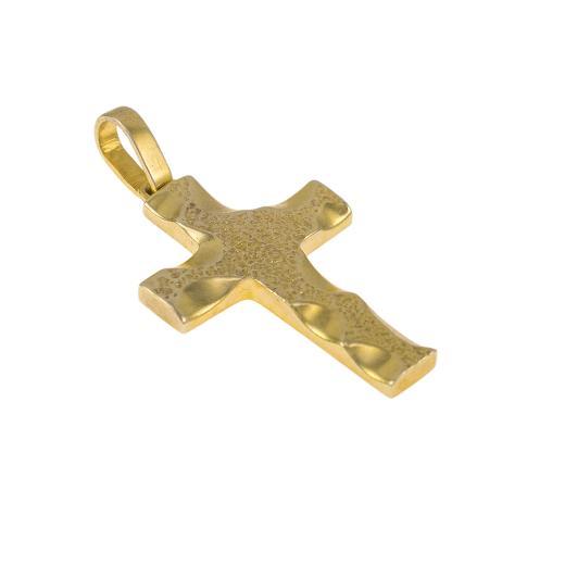 Σταυρός σε κίτρινο χρυσό 14ΚΤ