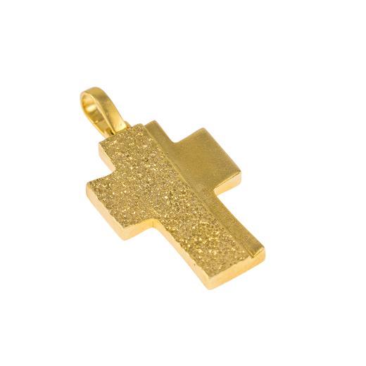 Σταυρός σε κίτρινο χρυσό 14ΚT