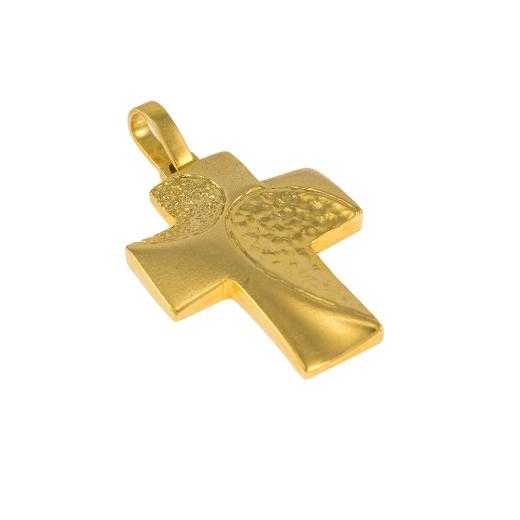 Σταυρός σε κίτρινο χρυσό 14ΚT.