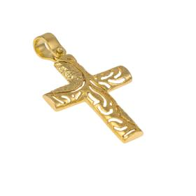 Cross  gold 14 kt