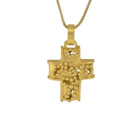 "Cross  ""DOTS"" gold 14kt"