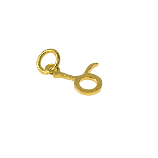 Mενταγιόν   ζώδιο  Ταύρος σε χρυσό 14Κτ.