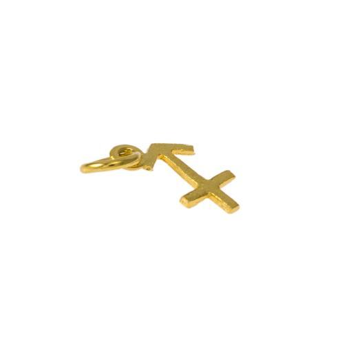 Mενταγιόν ζώδιο Τοξότης σε χρυσό 14Κτ.