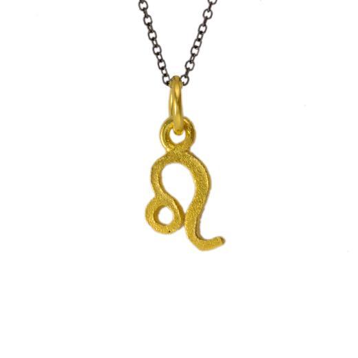 Mενταγιόν ζώδιο Λέων σε χρυσό 14Κτ.