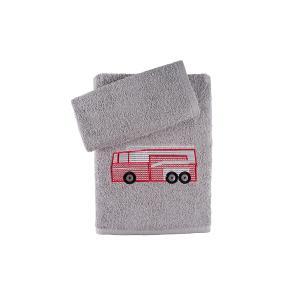 Πετσέτες Παιδικές Σετ 2τμχ Αstron Φορτηγό