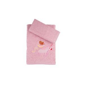 Πετσέτες Παιδικές Σετ 2τμχ Αstron Μονόκερος