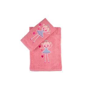 Πετσέτες Παιδικές Σετ 2τμχ Αstron Πριγκίπισσα