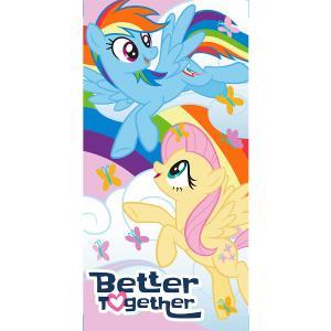 Πετσέτα Θαλάσσης Παιδική 70x140cm White Home Little Pony Βαμβακερή