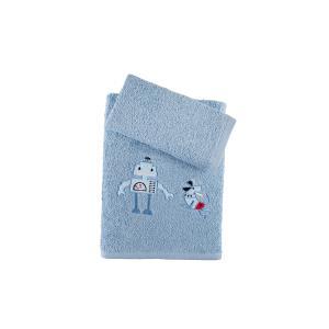 Πετσέτες Παιδικές Σετ 2τμχ Αstron Ρομπότ