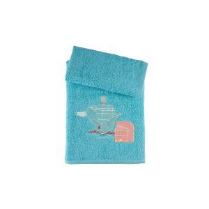 Πετσέτες Παιδικές Σετ 2τμχ Αstron Καράβι