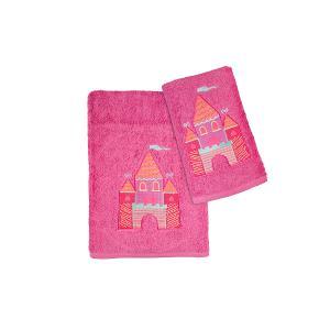 Πετσέτες Παιδικές Σετ 2τμχ Αstron Κάστρο
