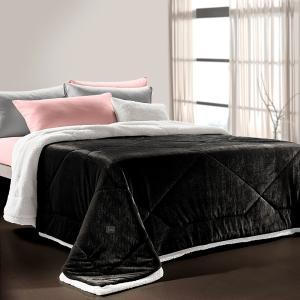 Κουβερτοπάπλωμα Μονό Guy Laroche 160x220cm Fabulous Black