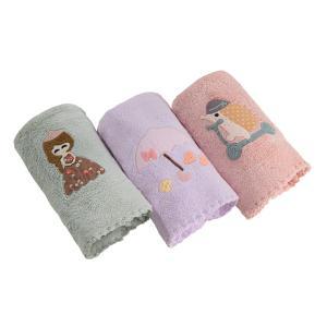 Βρεφικές Πετσέτες Χεριών Σετ 3τμχ Guy Laroche Happy Girl