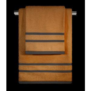 Πετσέτες Σετ 3τμχ Guy Laroche Tuscany Bronze