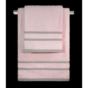 Πετσέτες Σετ 3τμχ Guy Laroche Tuscany Old Pink