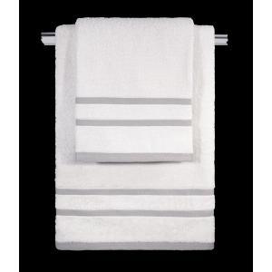 Πετσέτες Σετ 3τμχ Guy Laroche Tuscany White