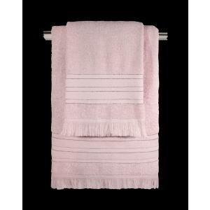 Πετσέτες Σετ 3τμχ Guy Laroche Donna Old Pink
