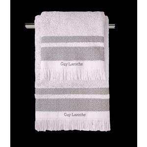 Πετσέτες Σετ 3 Τεμαχίων Guy Laroche Boston Amethyst