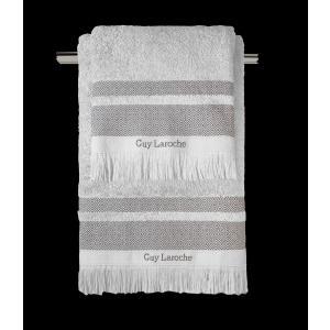 Πετσέτες Σετ 3 Τεμαχίων Guy Laroche Boston Grey