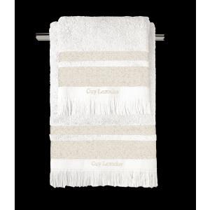 Πετσέτες Σετ 3 Τεμαχίων Guy Laroche Boston Ivory