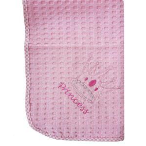 Κουβέρτα Πικέ Κούνιας 100x160cm Dimcol Princess 35