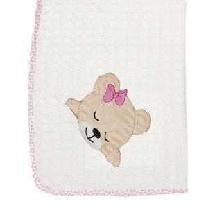 Κουβέρτα Πικέ Κούνιας 100x160cm Dimcol Sleeping Bears Cub 12