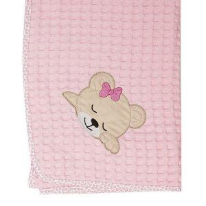 Κουβέρτα Πικέ Κούνιας 100x160cm Dimcol Sleeping Bears Cub 13