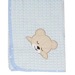Κουβέρτα Πικέ Κούνιας 100x160cm Dimcol Sleeping Bears Cub 14