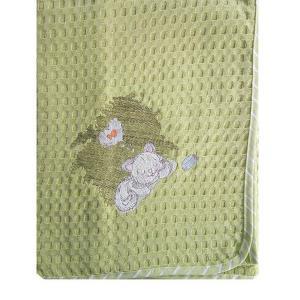Κουβέρτα Πικέ Κούνιας 100x160cm Dimcol Γατάκι 128