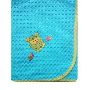 Κουβέρτα Πικέ Αγκαλιάς 80x110cm Dimcol Προβατάκι 130