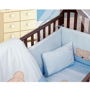 Πάντα Κούνιας 40x192cm Dimcol Sleepin Bears Cub 13