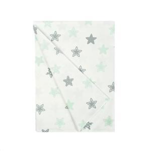 Πάπλωμα Κούνιας 120x160cm Dimcol Star 101 Green