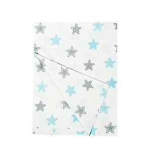 Πάπλωμα Κούνιας 120x160cm Dimcol Star 104 Sky Blue