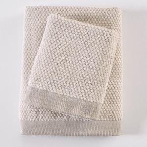Πετσέτα Μπάνιου 75x150cm Rythmos Quitto Spa 01 Ivory Βαμβακερή