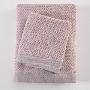 Πετσέτα Προσώπου 50x90cm Rythmos Quitto Spa 03 Dirty Pink Βαμβακερή