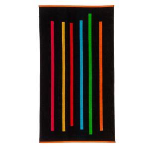 Πετσέτα Θαλάσσης 86x160cm Melinen Colourful Lines Βαμβακερή