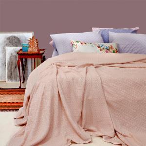 Κουβέρτα Μονή Πλεκτή 170x240cm Melinen Massimo Pink Βαμβάκι-Πολυεστέρας