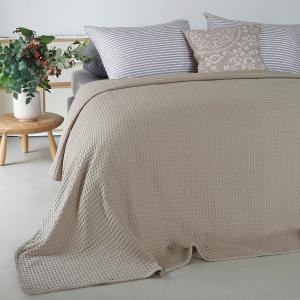 Κουβέρτα Υπέρδιπλη Πικέ 230x240cm Melinen Patmos Beige Βαμβακερή
