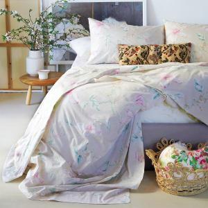 Παπλωματοθήκη Υπέρδιπλη 220x245cm Melinen Vogue Beige Βαμβακερή