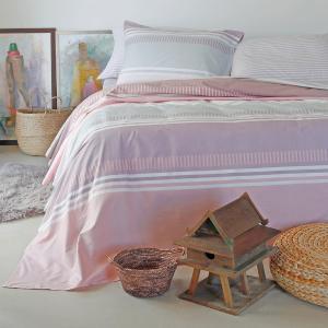 Παπλωματοθήκη Υπέρδιπλη 220x245cm Melinen Blogger Pink Βαμβακερή