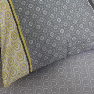 Μαξιλαροθήκες Ζεύγος Κατωσέντονου 50x70cm Melinen Gambi Grey Βαμβακερές