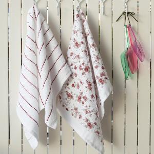 Πετσέτες Κουζίνας 2τμχ 40x60cm Melinen Liberty Βαμβακερή