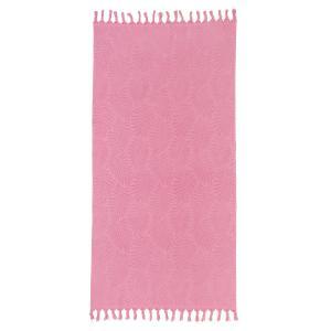 Πετσέτα Θαλάσσης 90x180cm Melinen Cuba Rose Βαμβακερή