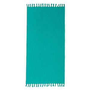 Πετσέτα Θαλάσσης 90x180cm Melinen Cuba Turquoise Βαμβακερή